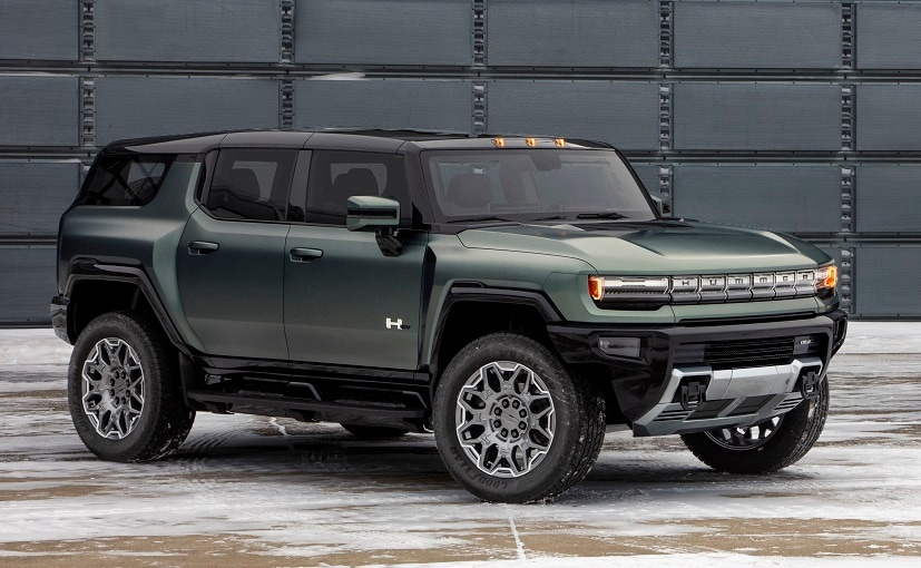 The fully-loaded Edition 1 Hummer EV SUV version will be the first model to arrive by early 2023