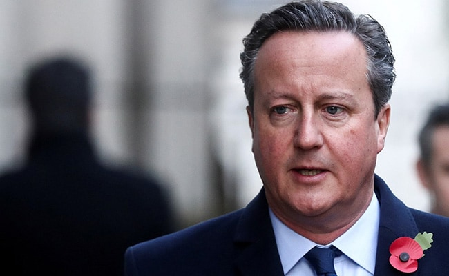 UK Opens Probe Into Former PM David Cameron's Lobbying Activities: Report