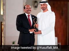Indian Business Tycoon Yusuffali MA Gets Top Civilian Award In UAE