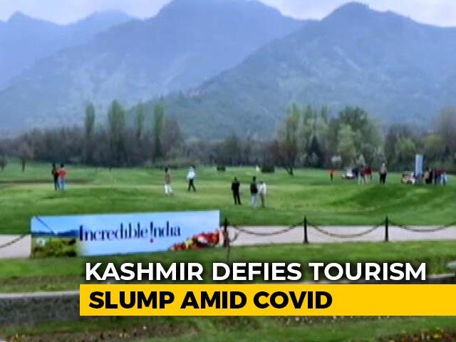 Video : Kashmir Defies Tourism Slump Amid Covid, 1 Lakh Visitors Since December