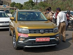 New Left-Hand Drive Volkswagen Taigun Spotted Testing In India
