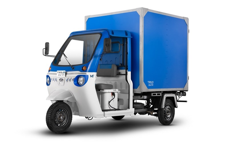 Mahindra Treo Zor electric vehicle is built on the tried and tested electric three-wheeler platform, Treo