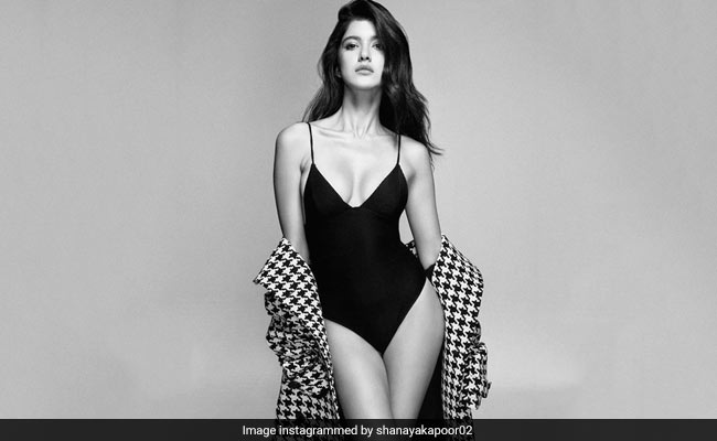 Stop Scrolling And Help Shanaya Kapoor Find The Right Song For Her Swimsuit Pics