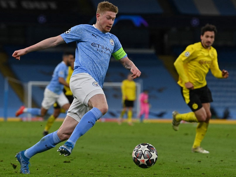Kevin De Bruyne Signs Contract Extension At Manchester City