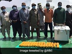 8 Pak Nationals Arrested With Heroin Worth Rs 150 Crore Off Gujarat Coast