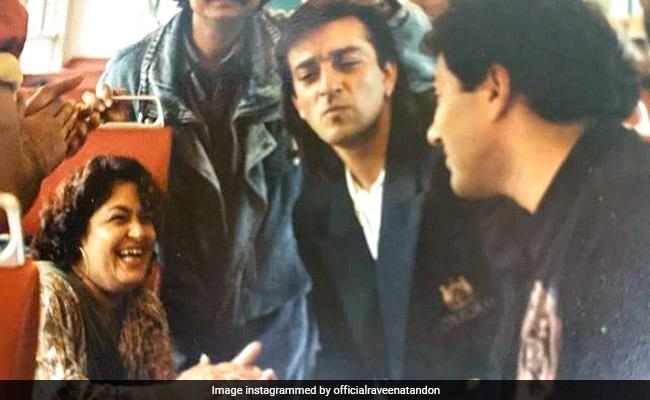 Raveena Tandon Misses 'Antakshari In The Bus', Posts Throwback Pics From The 90s