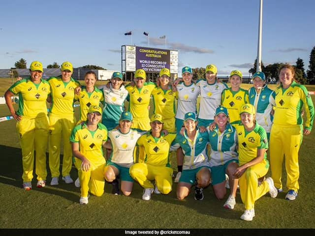 Australia Womens Cricket Team Sets New World Record In ODIs