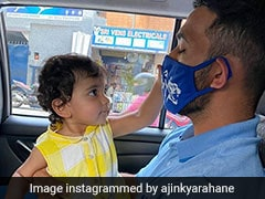 IPL 2021: Delhi Capitals' Ajinkya Rahane Urges Fans To Wear Mask With A Sweet Picture Of His Daughter