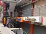 Video : Lucknow's Iconic Hazratganj Market Shut As Cases Rise