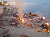 Video : Crematoriums Work Under Intense Pressure In Varanasi