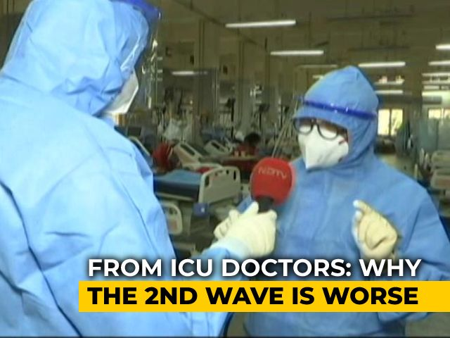 Video : Covid ICU Beds Almost Full At Mumbai's Government Hospitals: Special Report