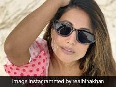 Hina Khan, In A Pink Polka Dot Bikini, Makes Beach Days Look So Much Better