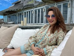 """Sunkissed"" And Smiling, Madhuri Dixit Shares Another Maldives Pic"