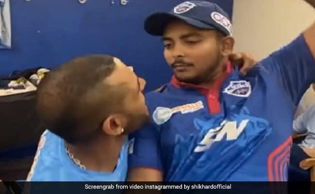 IPL 2021: Shikhar Dhawan, Prithvi Shaw Celebrate Delhi Capitals Win With Hilarious Video