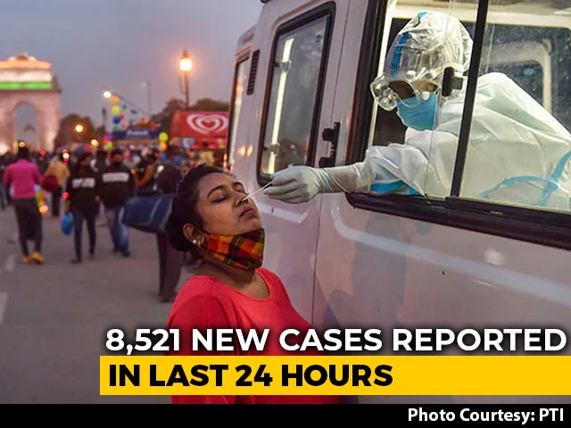 Video : Delhi Reports Over 8,500 Covid Cases In Biggest 1-Day Spike This Year