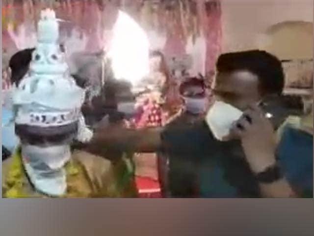 Video : Tripura IAS Officer Raids 2 Weddings Amid Curfew, Roughs Up Guests
