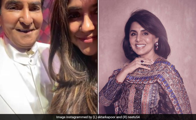 On Ekta Kapoor's Birthday-Special Post For Dad Jeetendra, Neetu Kapoor Dropped A Comment