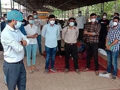 छत्तीसगढ़: घटिया पीपीई किट और मास्क से परेशान डॉक्टरों ने हड़ताल शुरू की