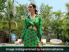 Karishma Tanna Slays Summer Fashion In Style In A Vibrant Co-Ord Set
