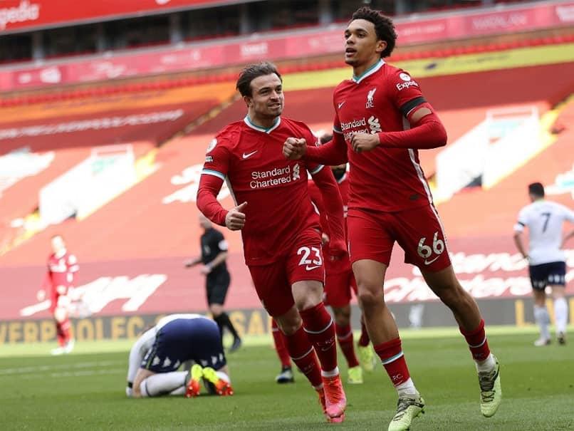 Premier League: Trent Alexander-Arnolds Late Goal Ends Liverpools Record Anfield Losing Streak