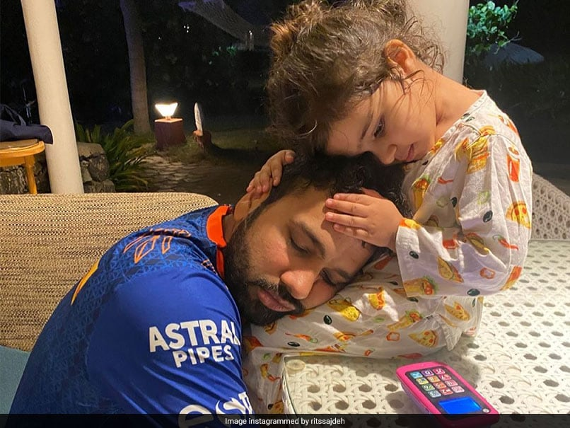 """""""World Is A Better Place With You"""": Ritikas Birthday Wish For Rohit Sharma"""