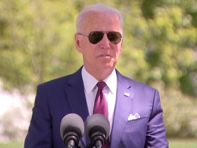 "Video : US Sending ""Whole Series"" Of Help To India, Says Biden"