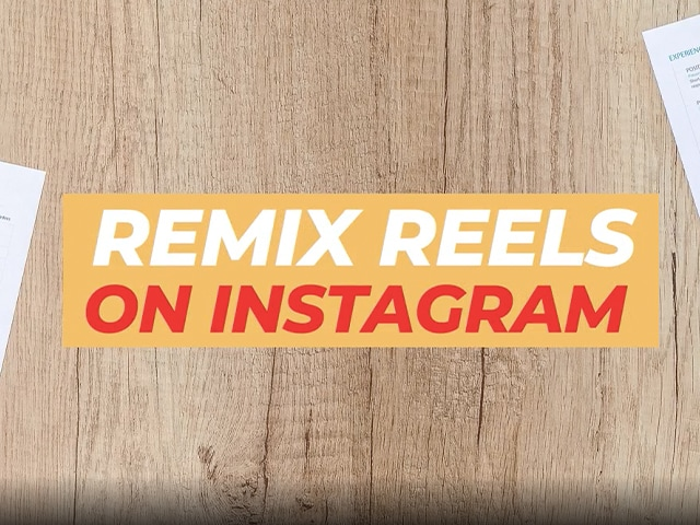 Video : Instagram Reels Remix: Loved TikTok Duet? Here's How You Can Do the Same on Instagram Reels
