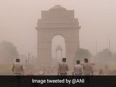 Dust Storm Hits Delhi On Friday Affecting Visibility
