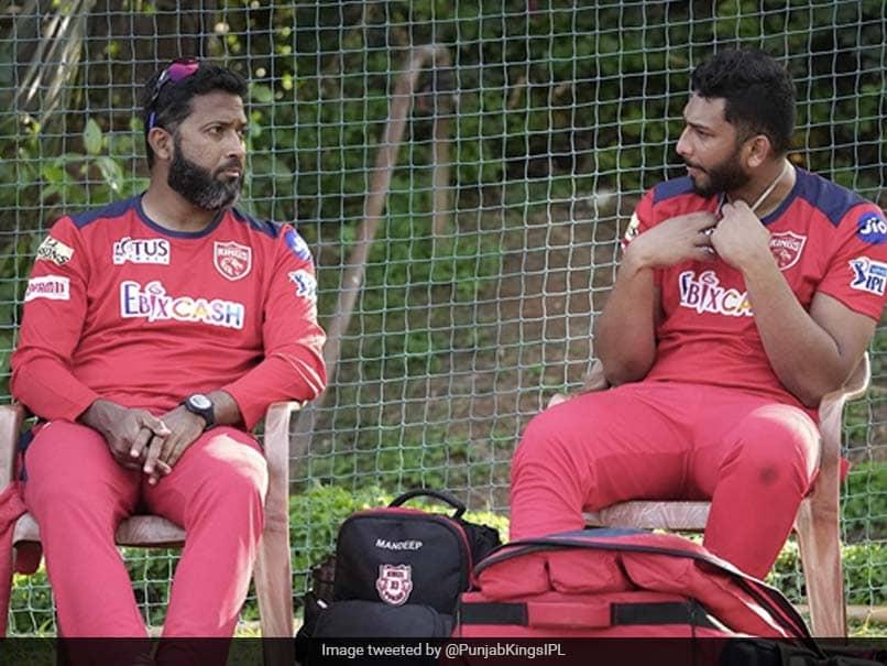 "IPL 2021: Punjab Kings ""Main Hoon Na"" Twist To Wasim Jaffers Chat With Shahrukh Khan"