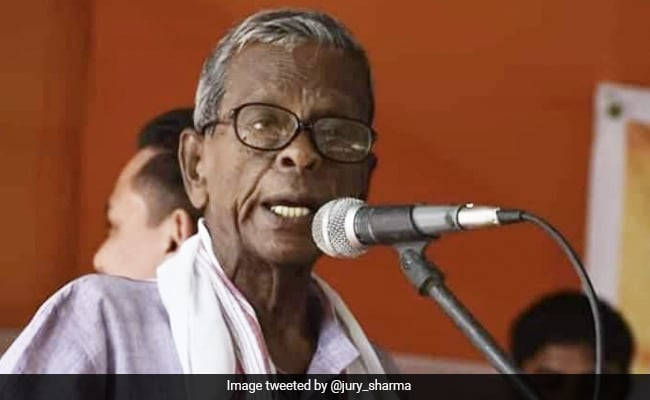 Former Assam Chief Minister Bhumidhar Barman Dies At 91