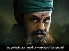 """Venkatesh Daggubati's <i>Narappa</i> Postponed: """"We Will Bring It To You When The Time Is Right,"""" Tweets Actor"""