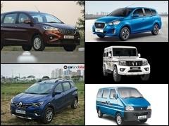 भारत में 5 सबसे सस्ती 7-सीटर SUV जिसमें समा जाएगा बड़ा परिवार