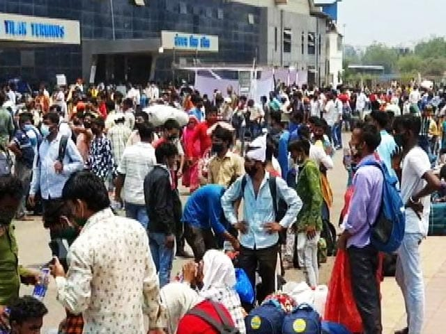 Video : Amid Lockdown Fear, Mumbai's Most Vulnerable Plan Depature