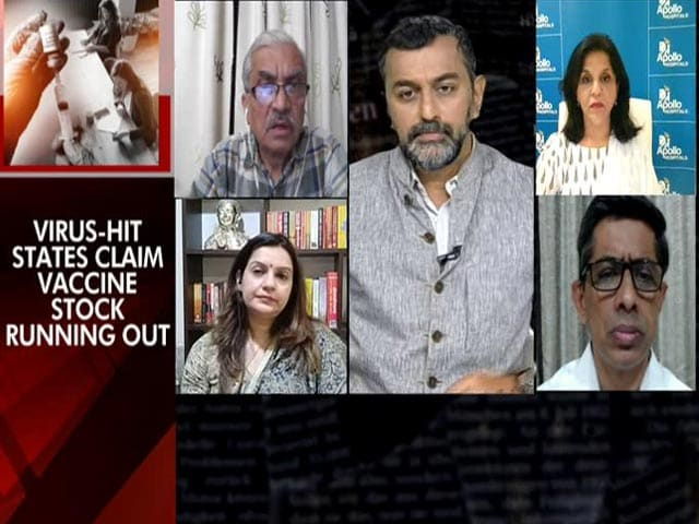 """Video : """"Unfortunate Comment On Vaccines By Health Minister"""": Shiv Sena Leader Priyanka Chaturvedi"""