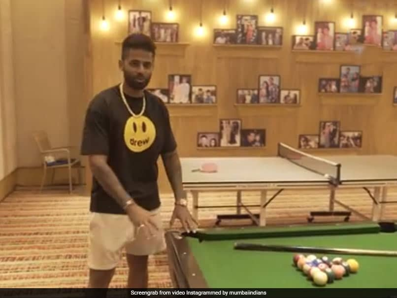 "IPL 2021: Suryakumar Yadav Gives Fans A Tour Of Mumbai Indians ""Magical"" Team Room. Watch"