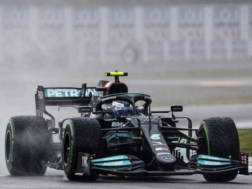 Watch: Mercedes Driver Valtteri Bottas Involved In High-Speed Crash During Emilia Romagna Grand Prix