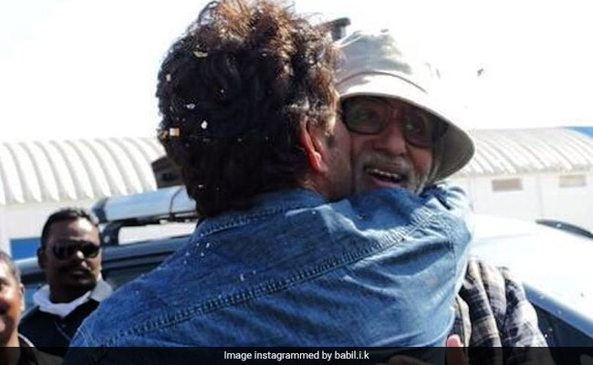 Irrfan Khan's Son Babil Would Love To Work With Amitabh Bachchan One Day When He Is 'Capable'