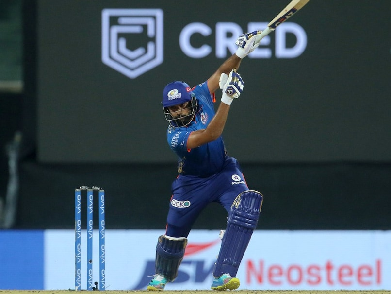 DC vs MI, IPL 2021: Rohit Sharma Hits Outrageous One-Handed Six Off Ravichandran Ashwins Bowling. Watch