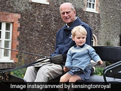 """""""My Grandfather's Century Of Life..."""": William's Post On Prince Phillip"""