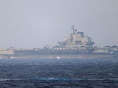 Chinese Carrier Drills Into Taiwan's Air Defence Zone In Message To US