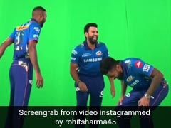 IPL 2021: Rohit Sharma's Fun BTS Video With Hardik Pandya, Suryakumar Yadav. Watch