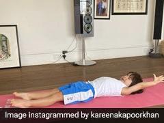 करीना कपूर ने शेयर की Taimur Ali Khan की Photo, बोलीं- योग के बाद स्ट्रेचिंग या नींद के बाद...