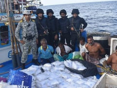 Indian Navy Seizes Drugs Worth Rs 3,000 Crore From Fishing Boat Off Kerala