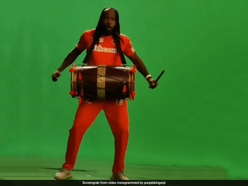 IPL 2021: Chris Gayle Is Back, This Time Doing It The Daler Mehndi Style - NDTVSports.com
