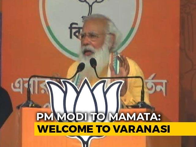"Video : ""<i>Didi</i>, Bengal Is Lost, Welcome To Varanasi"": PM Taunts Mamata Banerjee"