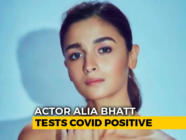 "Video : Alia Bhatt Tests COVID-19 Positive: ""Have Immediately Isolated Myself"""