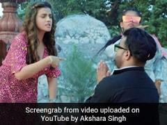 Akshara Singh ने बताया 'बॉयफ्रेंड बदलने का नया तरीका' तो YouTube पर Video ने मचाई धूम