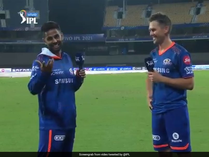 KKR vs MI, IPL 2021: Watch Suryakumar Yadav's 'Hindi Test' For Trent Boult