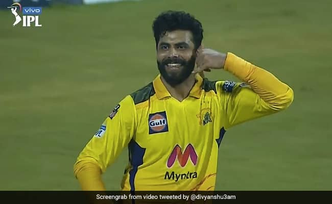 IPL 2021 CSK vs RR Ravidra Jadeja celebration After CSK beat Rajasthan royals, video viral on Internet Watch
