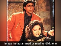 When Madhuri Dixit Aced The Volume Blowout Hair Trend 27 Years Ago